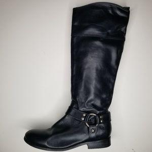 FRYE Melissa Harness Sz 7.5 B Inside Zip Leather